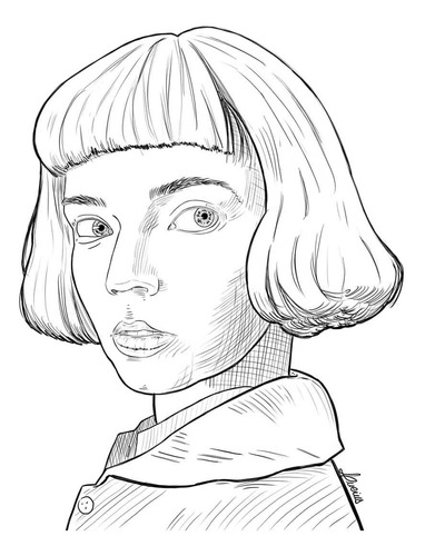 arte digital de retrato