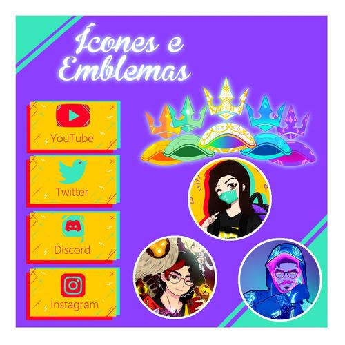 arte digital para canais (desenhos, logos, emotes e banners)