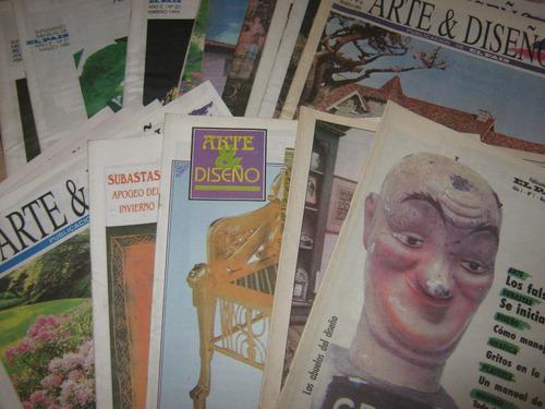 arte & diseño, revista mensual el país, 25 ejem, del 1 al 9.