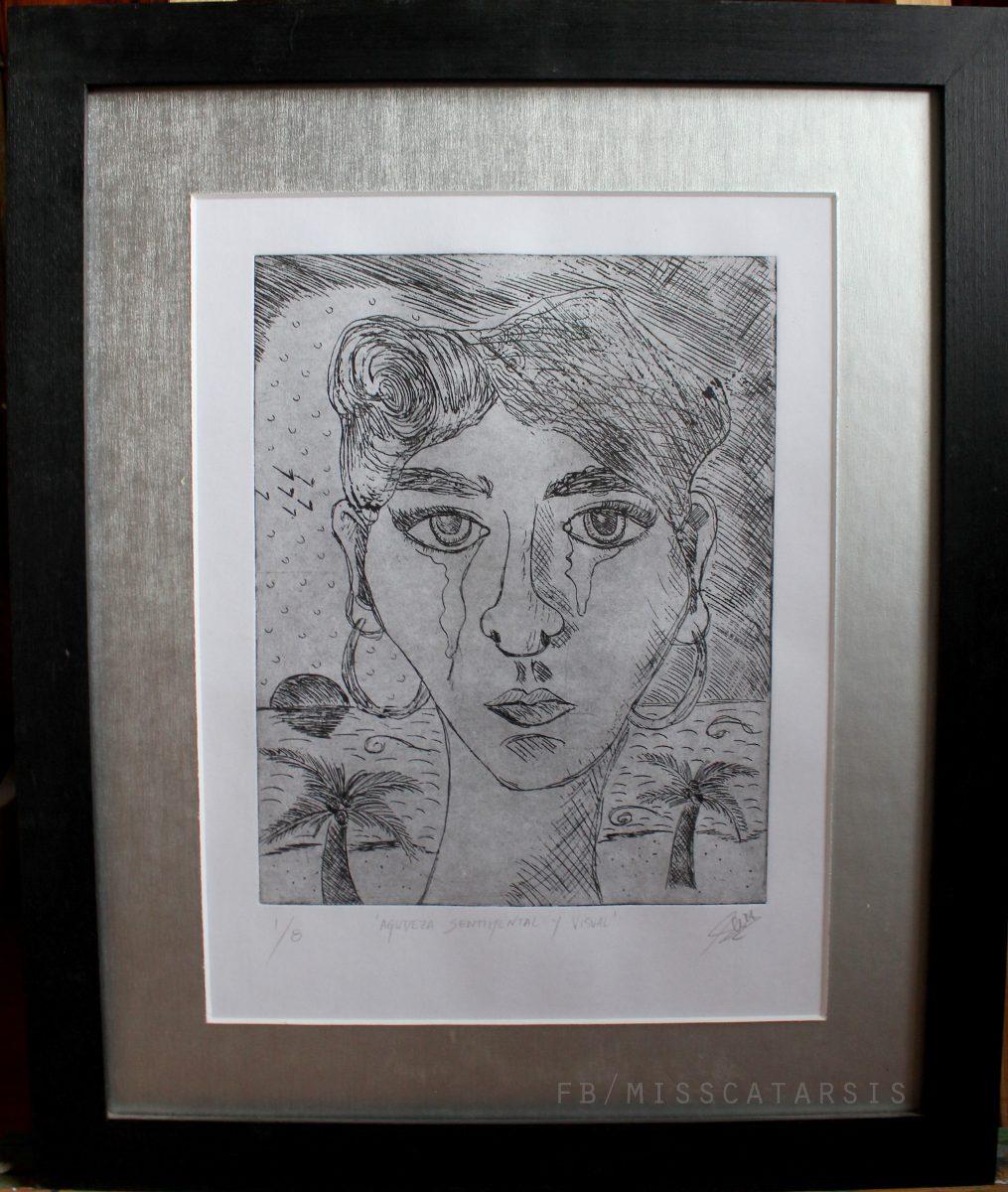Arte En Venta!grabados Originales C/marco. Miss Catarsis Art ...