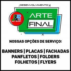 Arte Final Para Banners, Placas, Fachadas, Panfletos