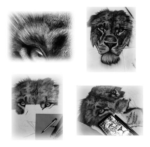 arte hiper realismo- carvão sobre papel