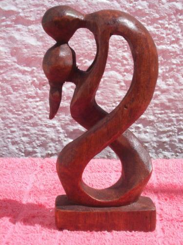 arte madera - talla en una sola pieza arte abstracto