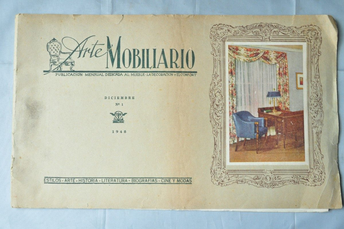 arte mobiliario revista mueble decoracion