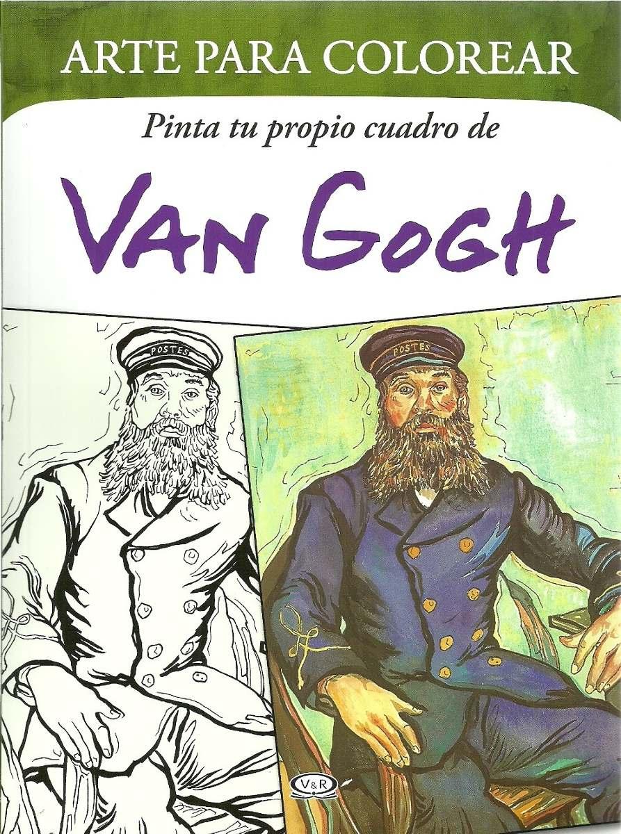 Arte Para Colorear - Van Gogh - V & R - $ 185,00 en Mercado Libre