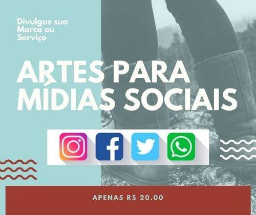 arte para redes sociais
