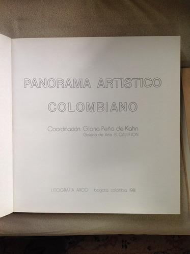 arte pictorico panorama artistico colombiano litografia arco