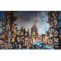 4 Pinturas Originales De Berto Luis Ruano Artista Cubano