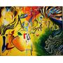 Pintura Oleo Y Acrílico Sobre Lienzo 110 X 140 Cms