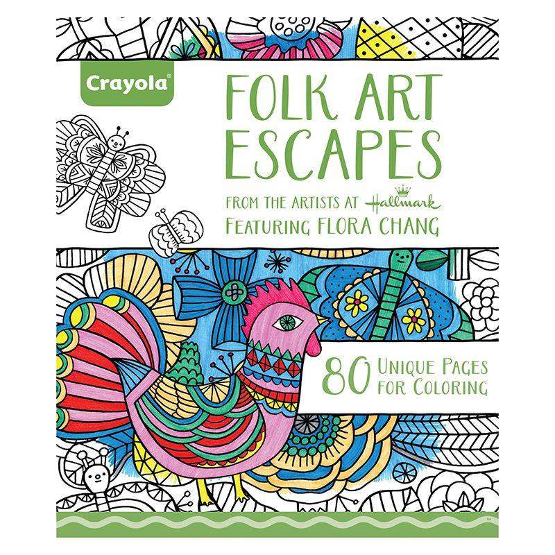 Arte Popular De Crayola Escapa Adulto Para Colorear Libro - $ 97.111 ...