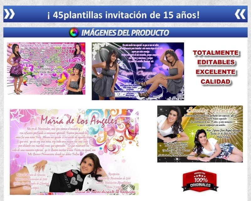 Arte Psd Photoshop Revista. Quince Años-bodas Plantillas - Bs ...