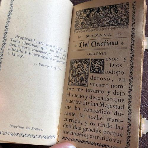 arte sacra antigo raro missal livro de reza madrepérola