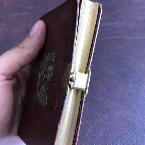 arte sacra muito antigo e raro livro de reza missal sécxix