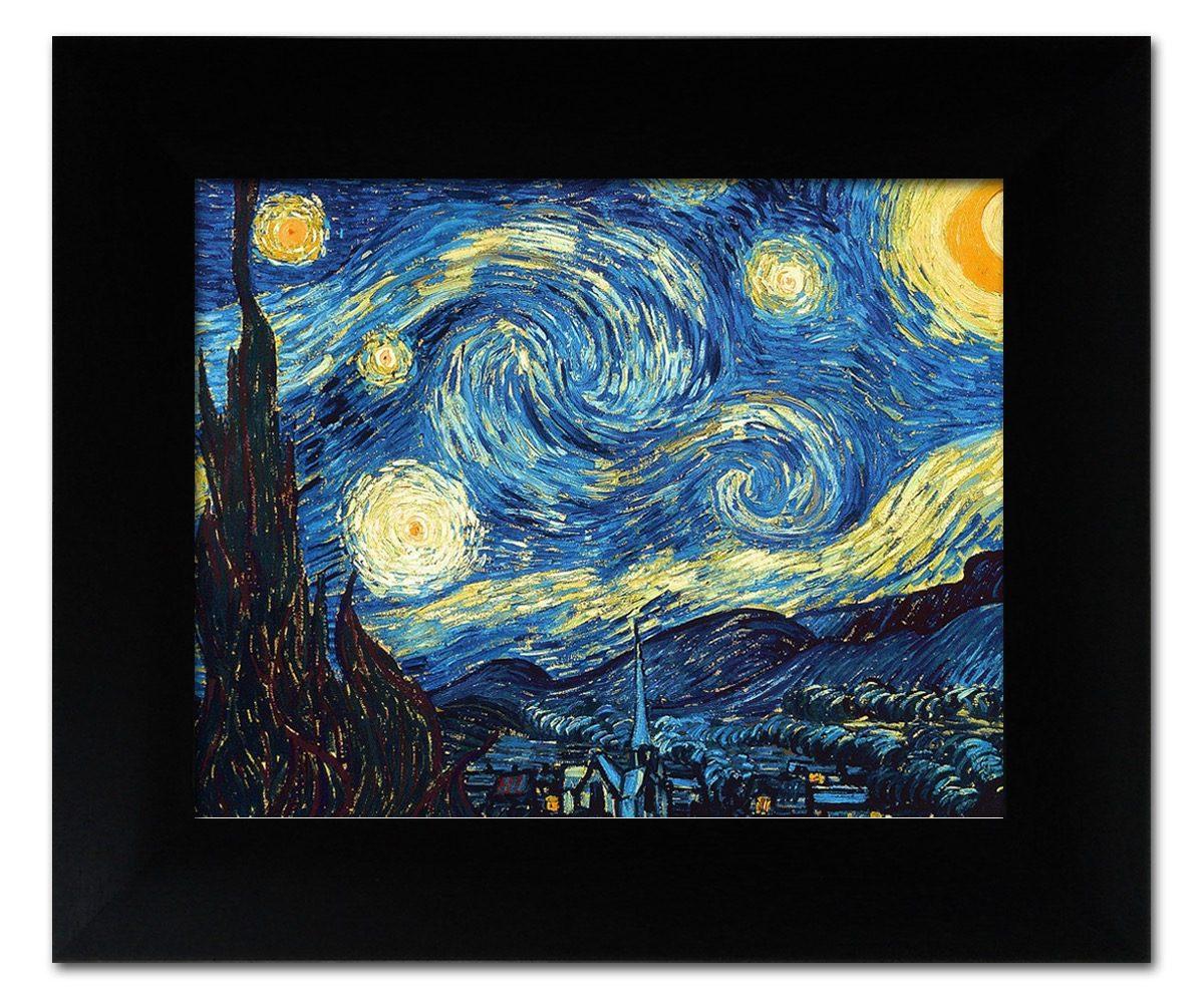 Arte. Set De 5 Pinturas Vincent Van Gogh. Marco Incluído ...
