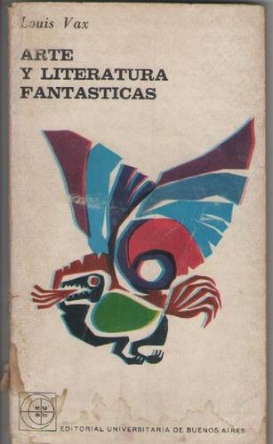 arte y literatura fantásticas - louis vax