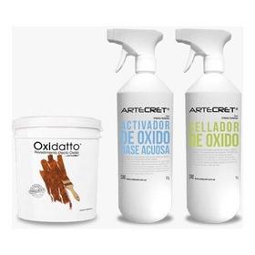 Artecret ® Oxidatto Pintura Efecto Oxido - Rinde Hasta 7 M2