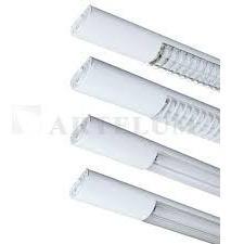 artefacto iluminacion artelum completo 2 tubos louver