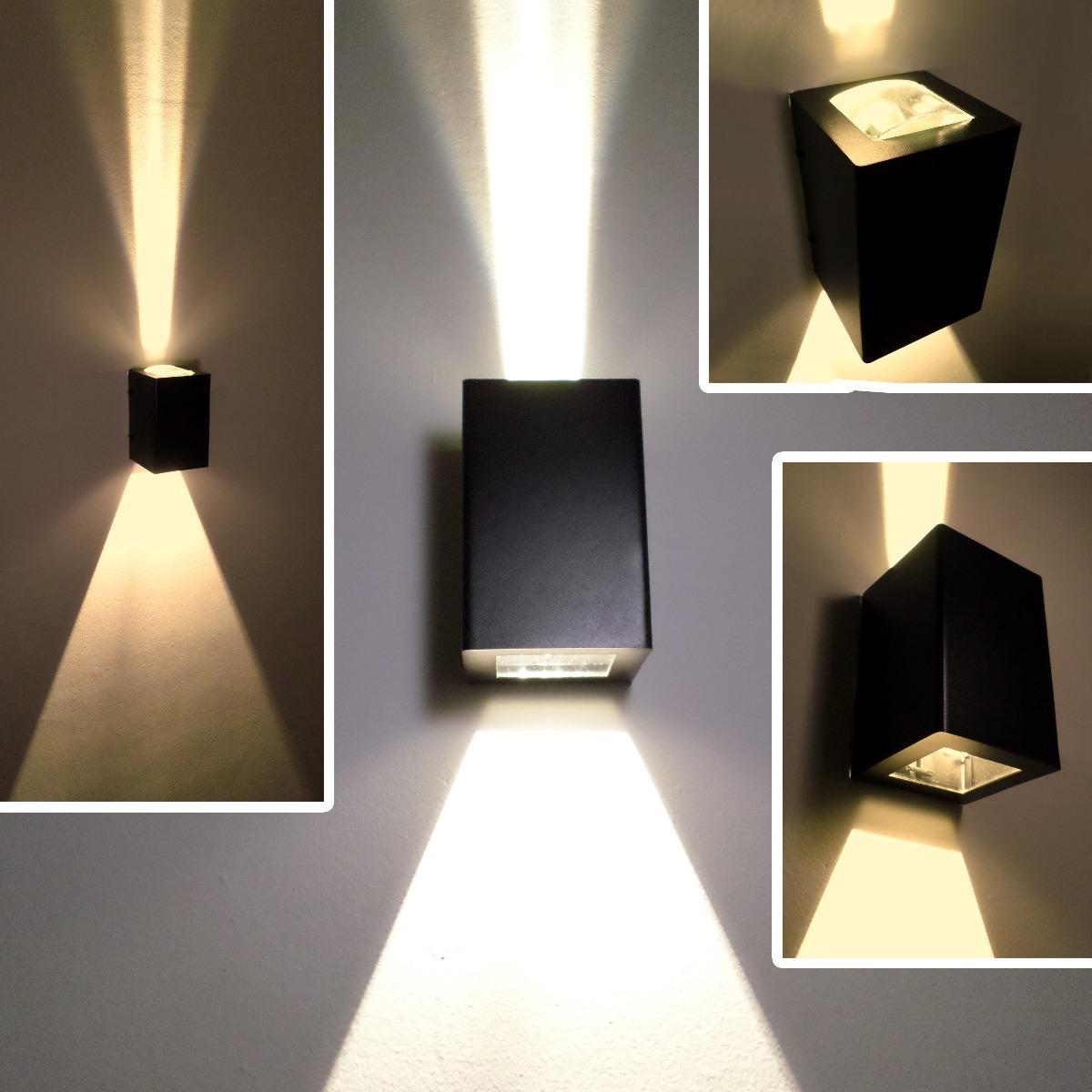 Artefactos De Iluminacion Para Jardin Luces Exterior Pack X2 996 - Iluminacion-para-exteriores-jardines