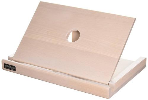 artelegno soporte para tableta de madera de h + envio gratis