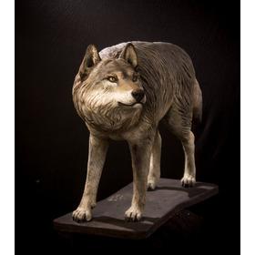 Artes, Artesanias, Animales, Esculturas ,lobo