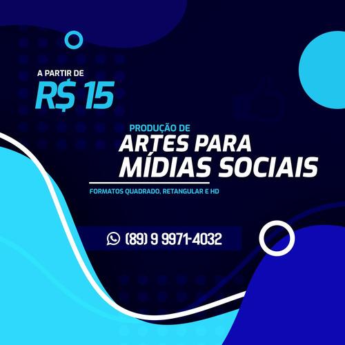 artes para mídias sociais (logo, folder, cartões, banners)..