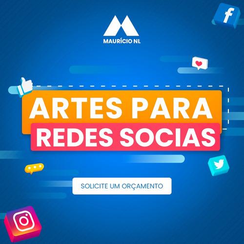 artes para redes sociais e sites