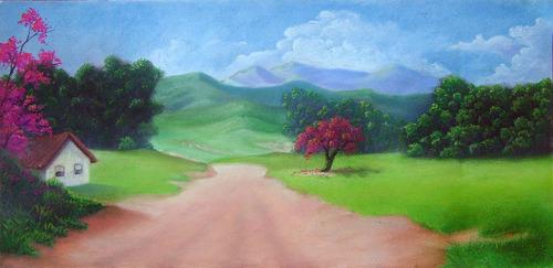 artes pintura giz pastel