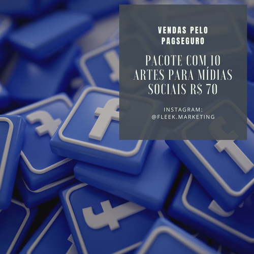 artes profissinais para redes sociais