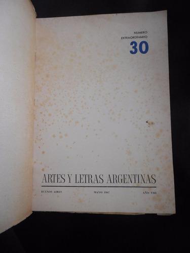 artes y letras argentinas 1967 borges girondo girri berni