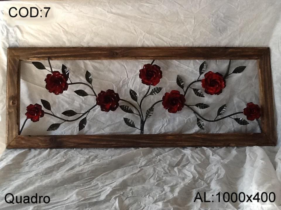 Artesanato Geraldi ~ Artesanato De Ferro Quadros R$ 220,00 em Mercado Livre