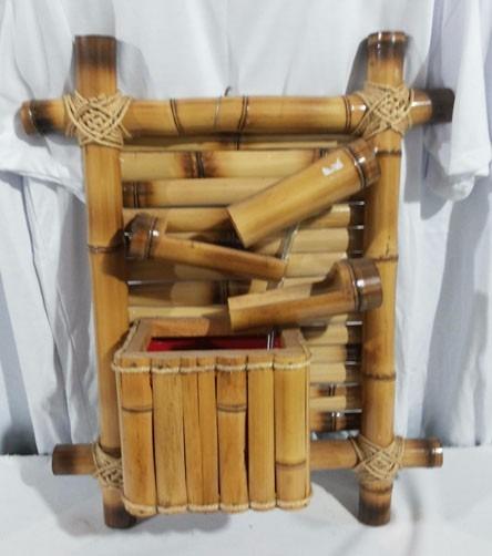 Artesanato Com Cd Velho ~ Artesanato Em Bambú Cascata Com Bomba D'água R$ 89,90 em Mercado Livre