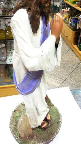 artesanato feito à mão de jesus cristo em epox cod.fr06