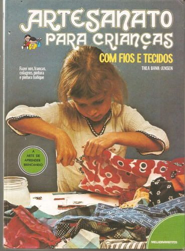 artesanato para crianças com fios e tecidos - vol. 4 - bank-