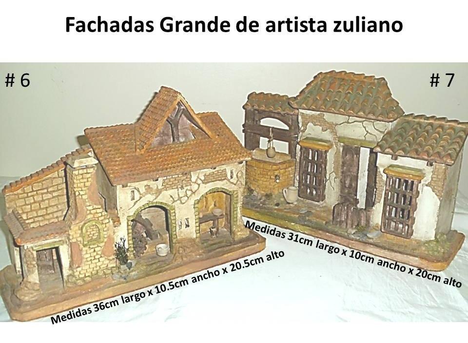 Artesania Casas Y Fachadas De Barro Cocido Y Madera Bs 450000