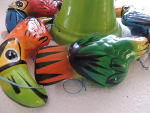 artesania de cerámica pintada a mano