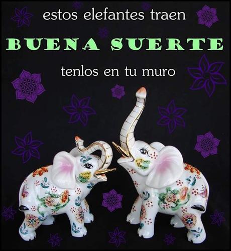 artesania de la suerte. elefantitos, buditas, huairuros etc.