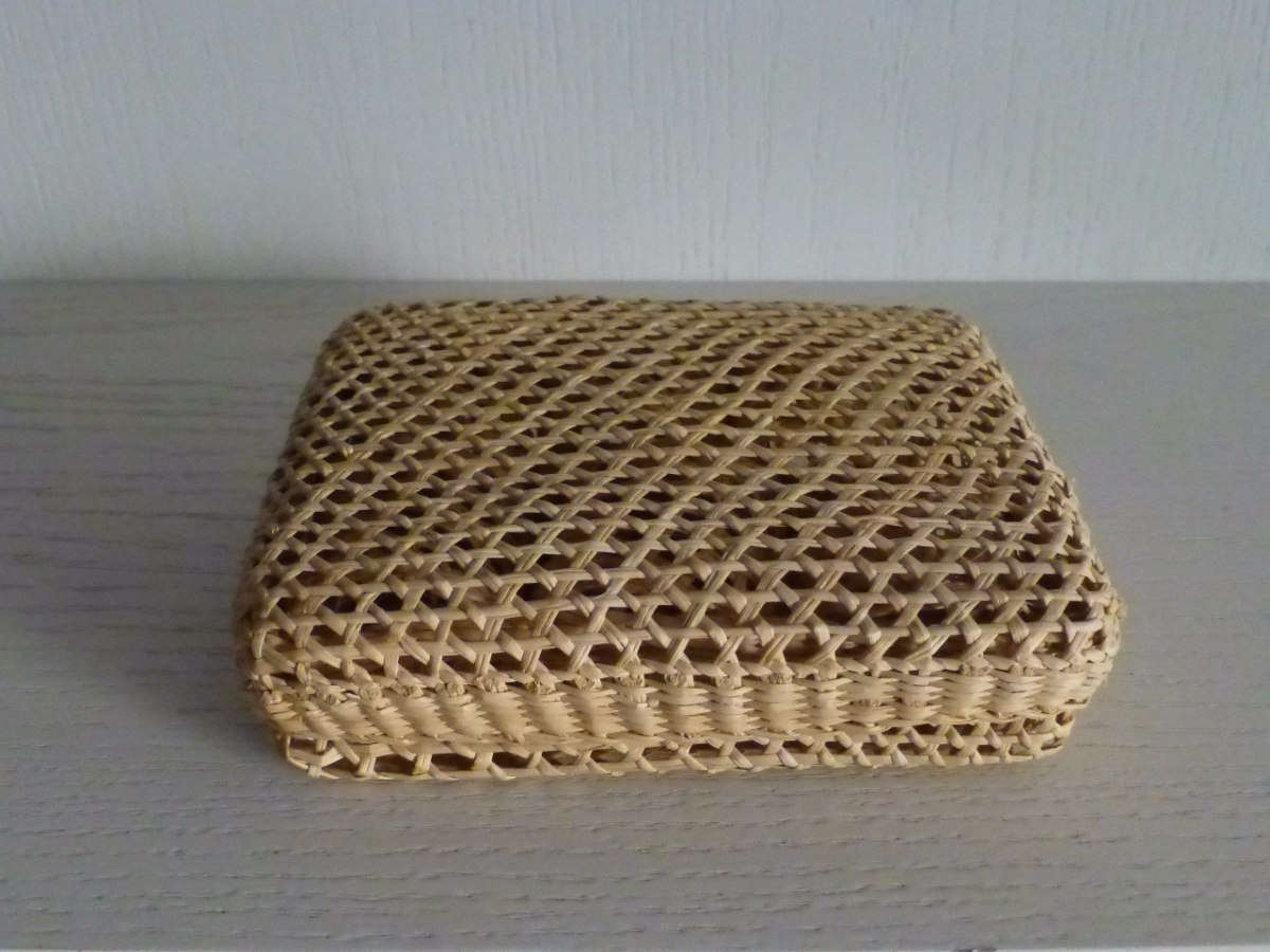 artesania ecuador caja elaborada en paja toquilla 14x10x4cm. Cargando zoom. 160c5801f43