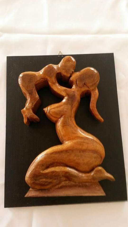 Artesan a en madera tallados en maderas en for Artesanias en madera