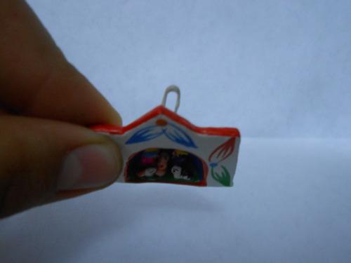 artesanía huamanguina para navidad