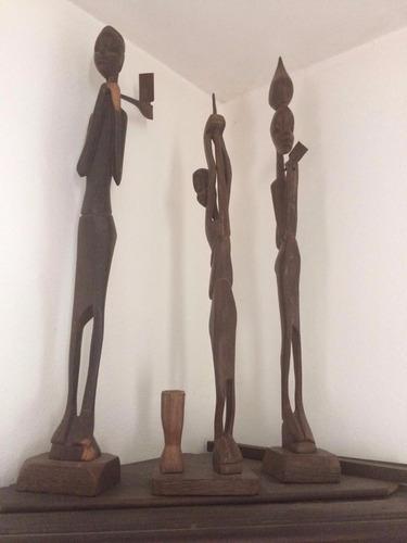 artesanía negros del congo. adorno africano.