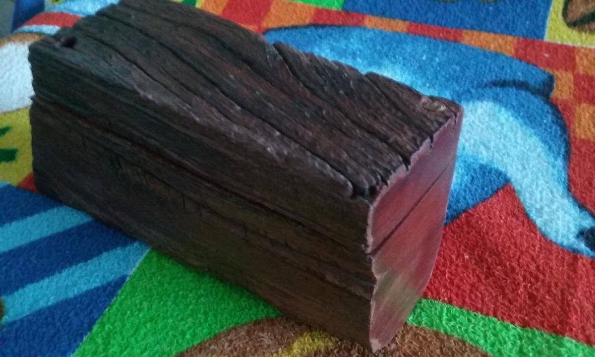 Artesania pieza madera rustica adorno vitrina 350 00 en mercado libre Artesanias en madera