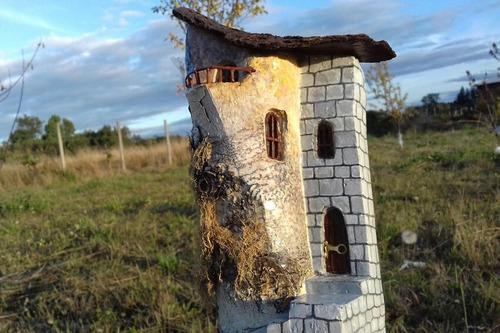 artesania retablo chileno casa de duende