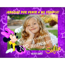 Imanes Souvenir Cumpleaños Infantiles X 24 Unidades C/ Foto