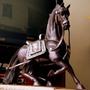 Escultura De Caballo De Madera De 52cm De Alto Buen Acabado
