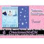 18 Invitaciones Personalizadas Infantiles (tarjetas) A $144