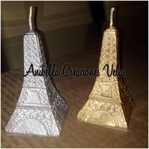 Velas 15 Años Torre Eiffel Souvenir, Árbol De La Vida