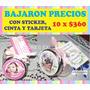 Mini Carameleras Souvenir 10 X $360 Cumpleaños - 15 - Bodas