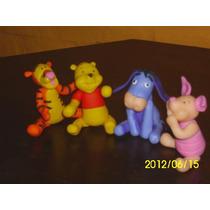 Winnie The Pooh Adorno En Porcelana Fría Para Tu Torta
