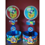 Centros De Mesa Infantiles Golosinero Angry Birds Mickey