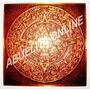 Calendario Azteca Piedra Del Sol Cuadro Cobre Adorno Antiguo
